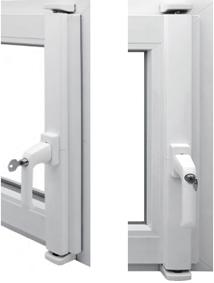 DENI SVG Stangenschloss (VdS anerkannt) Grundkarton ohne Fenstergriff
