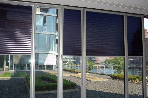 Blendschutzrollo - Sonnenschutzrollo - Reflektions Rollo