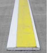 Flachprofil aus Kunststoff 30x3 mm, weiß, selbtklebend