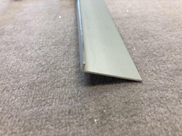 Keilschiene für Plisseetür 40 Elox 40 x 5 mm Bodenschiene bis 2.500 mm