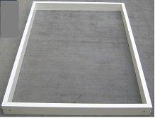 Montagerahmen 4-teiliger Rahmen 20 mm x 60 mm mit Eckwinkel
