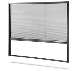 Insektenschutz als Mini Plissee-Fenster nur 17mm Einbautiefe